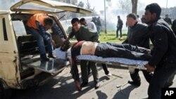 Сирия, Дамаск 21 февраля 2012г.