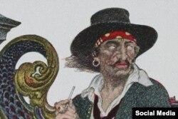 Pirat qulağına adətən ekvator xəttini ilk dəfə keçəndən sonra sırğa vururdu.