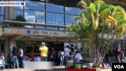 巴西利亞大學有不少非洲學生。