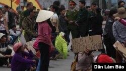 Biểu tình tại Sầm Sơn