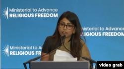 Yamini Ravidran. (Photo: videograb)