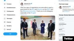 Австрійський канцлер Себастіан Курц у Twitter особливо дякував «ощадливим» колегам
