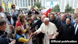 Roma Papası Fransisk