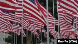 星条旗下南加州悼念9/11