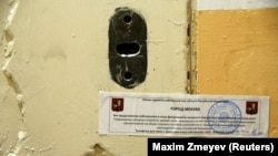 Kantor Amnesty International di Moskow disegel pemerintah Rusia tanpa penjelasan atau peringatan, Rabu (2//11).