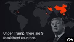 Lào, Miến Điện, Trung Quốc, Việt Nam, Cuba... nằm trong danh sách 'ngoan cố' của chính quyền Donald Trump.