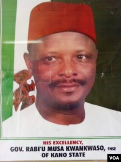 Improving education is part of the agenda of Kano State Governor Rabi'u Musa Kwankwaso. (VOA/ I. Ahmed)