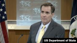 존 커비 국무부 대변인 (자료사진)