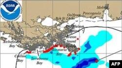 Район Мексиканської затоки, який уже потерпів з приводу виливу нафти з пошкодженої свердловини