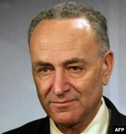 代表纽约州的舒默参议员