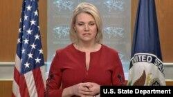 هدر نائورت سخنگوی وزارت خارجه ایالات متحده - آرشیو