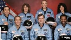 Los siete astronautas a bordo del Challenger perdieron la vida aquel 28 de enero de 1986.