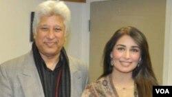 خالد حمید اور نامور اداکارہ، ریما
