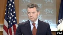 图片说明:美国国务院新闻办公室主任杰夫•拉特克