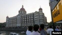 دہشت گردی کا نشانہ بننے والا ممبئی کا تاج ہوٹل (فائل فوٹو)