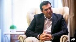 Outgoing Greek Prime Minister Alexis Tsipras in Athens, Aug. 25, 2015.