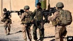 کشته شدن شش سرباز ناتو توسط پولیس افغان