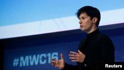 پاول دوروف مدیرعامل تلگرام - آرشیو