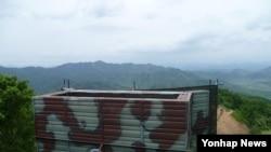 한국 국방부가 공개한 대북 확성기 (자료사진)