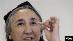 Rebiya Kadeer, presiden 'World Uighur Congress'