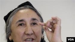 Rebiya Kadeer, presiden 'World Uighur Congress'
