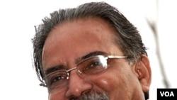 Pemimpin Maois Pushpa Kamal Dahal, atau dikenal dengan nama Prachanda.