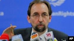 聯合國人權事務高級專員就扎伊德•拉阿德•侯賽因