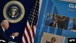 Tổng thống Joe Biden triệu tập hội nghị thượng đỉnh trực tuyến về COVID-19 bên lề Đại hội đồng Liên hiệp quốc, ngày 22/9/2021.
