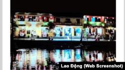 """Cảnh quay trong phim """"Madam Secretary"""" được cho là quay ở Hội An nhưng lại được chú thích là Phù Lăng, Trung Quốc."""