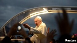 教宗在里約熱內盧出席世界青年節活動