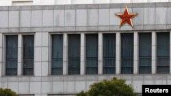 """Deo zgrade """"Jedinice 61398"""", tajanstvene kineske vojne jedinice na periferiji Šangaja, za koju jedna ameirčka kompanija za bezbednost interneta veruje da stoji iza serije hakeraških napada."""