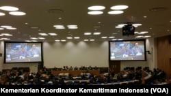 Pertemuan PBB untuk Standardisasi Nama Geografis. (Foto: Kementerian Koordinator bidang Kemaritiman/VOA)