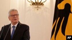 Le président allemand Joachim Gauck à Berlin le 6 juin 2016.