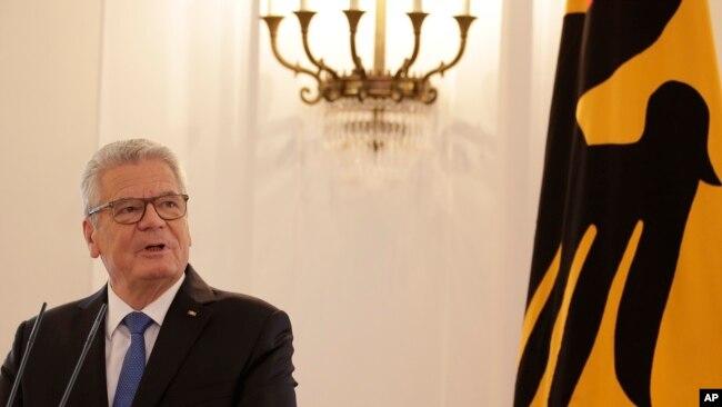 Eski cumhurbaşkanı Joachim Gauck