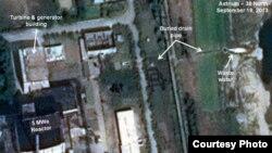 북한이 영변의 5㎿급 원자로를 재가동한 정황이 추가로 드러났다고, 미국의 북한 전문 웹사이트 '38 노스' 가 주장했습니다. 웹사이트에 실린 인공위성 사진.