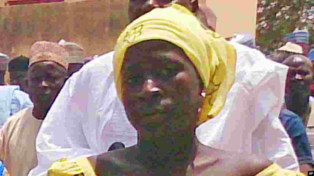Hotun daya daga cikin dalibai mata na makarantar sakandare na Chibok data kubuta, hoton da aka dauka 21 ga Afrilu 2014.