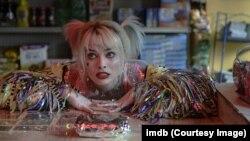 """""""Birds of Prey (and the Fantabulous Emancipation of One Harley Quinn)"""", es una película de superhéroes de DC Comics. En la gráfica: la actriz Margot Robbie, que también aparece en """"Bombshell"""" y """"Once upon a time in Hollywood""""."""