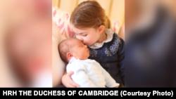 Принц Луї та принцеса Шарлотта