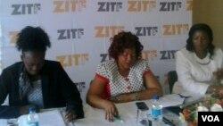 Iziphathamandla zenkampani yeZimbabwe International Trade Fair zikhuluma lentathelizindaba nyakenye.