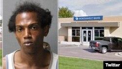 دنیس استریکلند ۳۳ ساله که سعی داشت یک اسکناس یک میلیون دلاری را در بانک «نورث وست» واریز کند به جرم حمل مواد مخدر دستگیر شد.