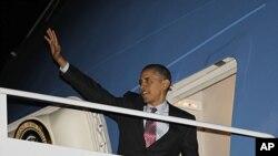 奧巴馬啟程前往南韓。