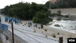 Čišćenje Losanđeleske reke