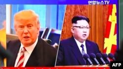 Shugaba Trump da Shugaba Kim Jung Un