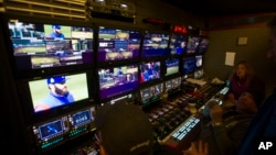 The World Series was broadcast live for the first time using the new ATSC 3.0 TV transmission standard on experimental station Channel 31 in Cleveland, Oct. 26, 2016.