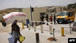 КПП на Западном берегу Иордана