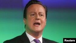 PM Inggris David Cameron mengatakan akan menyerahkan keputusan keanggotaan Inggris dalam Uni Eropa kepada rakyat Inggris, jika partainya menang pemilu mendatang (foto: dok).