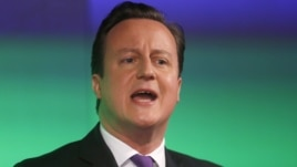 Britain's Prime Minister David Cameron delivers a speech on the European Union and Britain's role within it, in central London January 23, 2013.