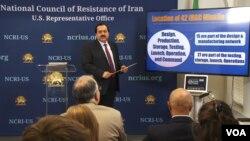 علیرضا جعفرزاده نماینده شورای ملی مقاومت ایران در آمریکا