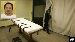 El asesino convicto Dennis McGuire, fue objeto de pruebas durante la ejecución de su pena de muerte, en Ohio.