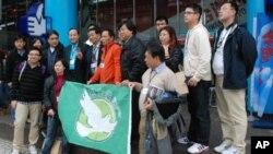 香港民主黨的台灣總統大選觀選團